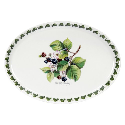 Portmeirion Pomona Platter Medium Blackberry