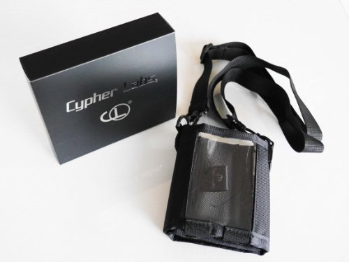 Cypher Labs Gear Bag - Black Nylon With Shoulder Strap - Holds Dac + Amp + Ipod