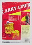 Black Shopping Cart Carry Liner/Hood