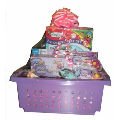 Dora the Explorer Gift Basket - Perfect for Get Well, Birthday, or Other Occasion