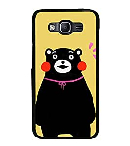 Printvisa Ultra Cute Bear 2D Hard Polycarbonate Designer Back Case Cover for Samsung Galaxy O...