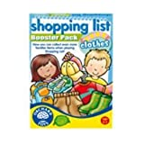 Shopping List Booster Pack - Clothesby Orchard Toys