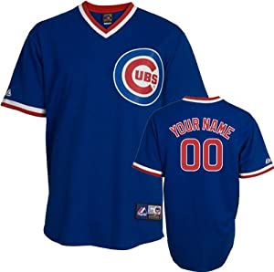 MLB Chicago Cubs Authentic Jersey Personalized Mens by Majestic