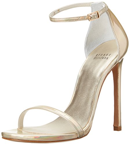 Stuart Weitzman Women's Nudist Dress Sandal, Cava, 8 M US