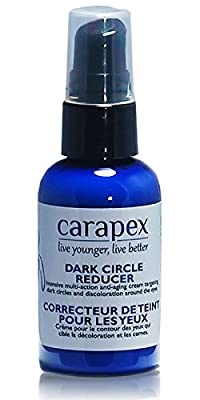 Brightening Eye Cream, Carapex Dark Circle Eye Cream, Natural Dark Circle Correcting Eye Cream for Wrinkles and Puffiness, for Sensitive Skin, Crows Feet, Hydrating, Ease Dryness, with Avocado Oil, Olive Oil, Cruelty Free, Unscented, Paraben Free