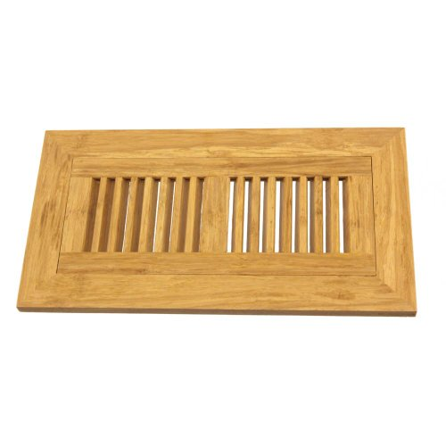 Bamboomn brand 6 3 4 inch x 12 5 8 inch bamboo floor for 12 x 8 floor register