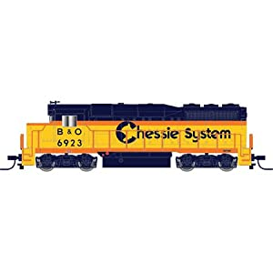 Atlas Chessie Systems (B and O) #6948, GP30 N Scale Locomotive