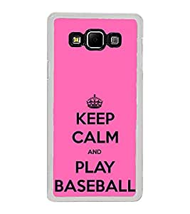 ifasho Nice Quote On Keep Calm Back Case Cover for Samsung Galaxy A8