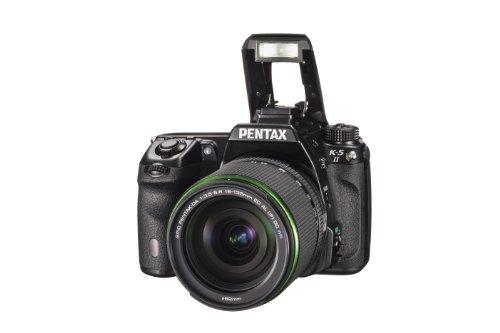 Pentax-K-5-II-Kit-Fotocamera-e-Obiettivo-18-135mm-WR-Sensore-CMOS-APS-C-da-1693-Megapixel-Display-LCD-da-3-Video-Full-HD-Nero