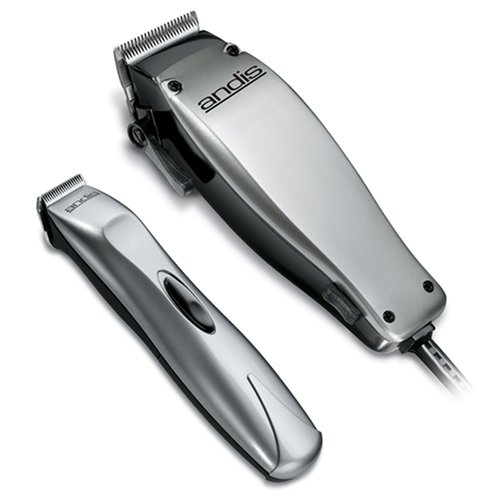 ... Clipper and Trimmer Combo Pack, Silver (20140) : Hair Cutting Kits