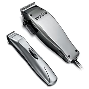 Barber Quality Beard Trimmer : Amazon.com : Andis 23-Piece Clipper and Trimmer Combo Pack, Silver ...