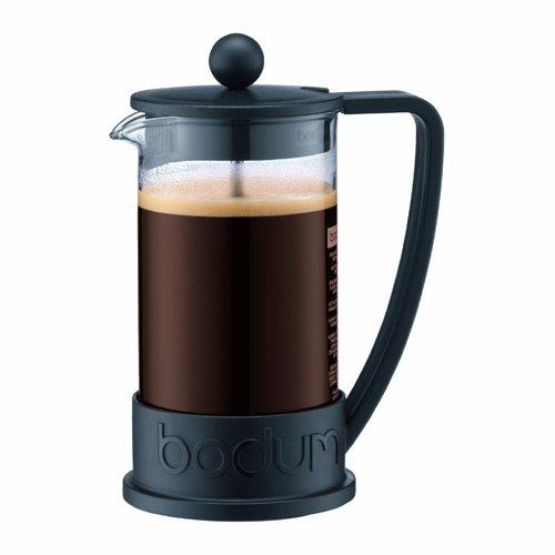 Bodum Brazil Three Cup French Press Coffee Maker - Black