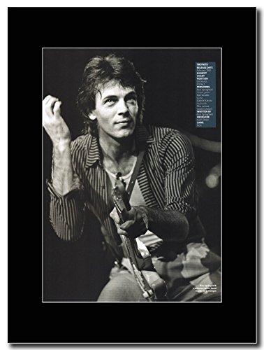 Rick Springfield-1981 Magazine Promo su un supporto, colore: nero