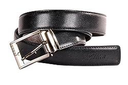 Nerita Men Reversible Belt(Art_Leather_Black&Brown_516)