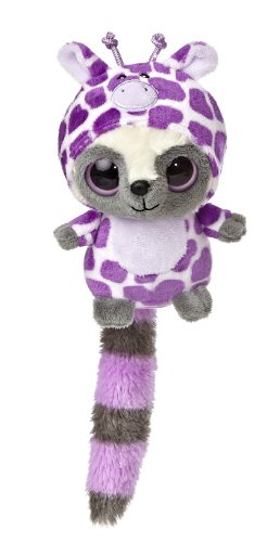 "Aurora World YooHoo & Friends Wanna Be Purple Giraffe Plush, 5"" Tall"