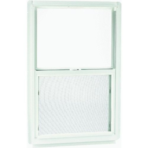 Croft LLC F31714 Series 90 Aluminum Single Hung Window With Half Screen