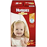 Huggies Little Snugglers Baby Diapers, Size 4, 144 Count (Packaging May Vary)