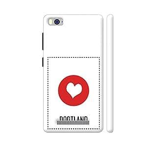 Colorpur I Love Portland Artwork On Xiaomi Mi 4i Cover (Designer Mobile Back Case) | Artist: Torben