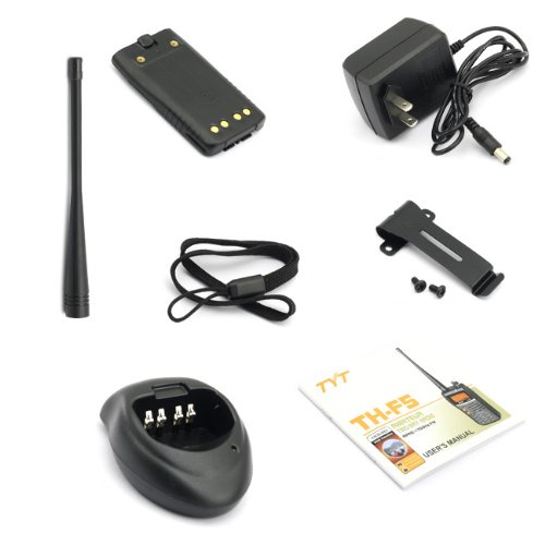 Handheld VHF & 2 Meter Amateur Radio Tranceiver 5watt, TYT