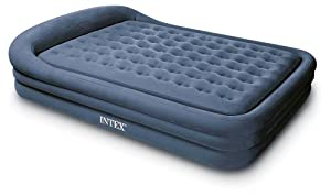 Intex Comfort Frame Rising Comfort Queen Airbed