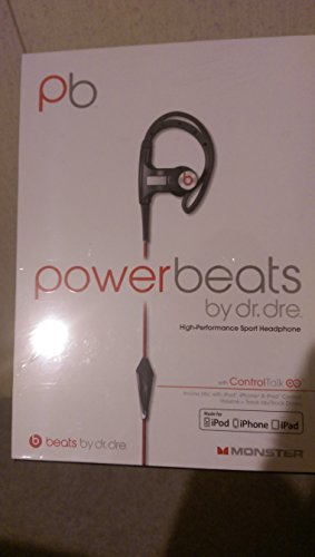 Beats Powerbeats Sweat-Resistant And Uv Protected Athletic Earbuds - Black