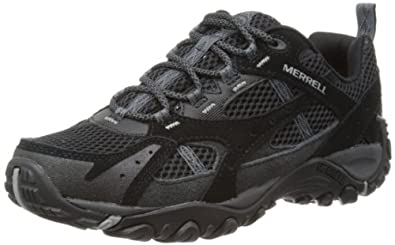 Merrell Mens Yokota Bluff Ventilator Hiking Shoes J123827C Black 9 UK, 43.5 EU