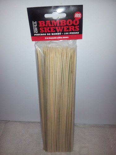 Bamboo Skewers 100 Count