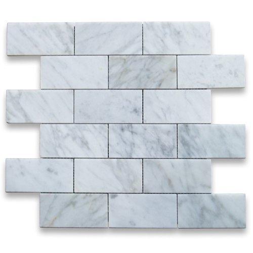 carrara-white-italian-carrera-marble-subway-brick-mosaic-tile-2-x-4-polished-by-stone-center-online