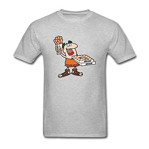 mens-little-caesars-short-sleeve-cotton-t-shirt-grey