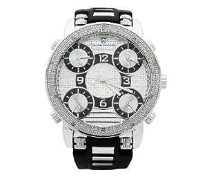 Grand Master Mens Five Time Zone Diamond Watch [Watch] Grand Master