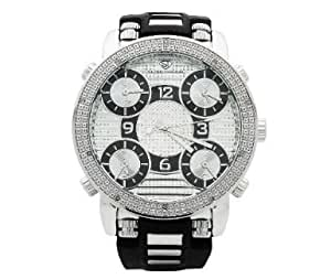 Grand Master Mens Five Time Zone Diamond Watch [Watch] Grand Master