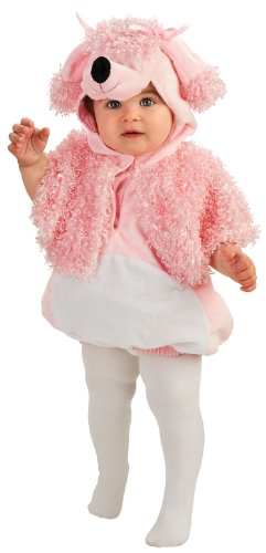 Rubie'S Costume Baby Deluxe Poodle Woodle Tunic Costume, Pink, 6-12 Months