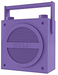 iHome iBT4 Bluetooth Boombox with FM Radio (Purple)