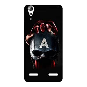 Impressive ACW Multicolor Back Case Cover for Lenovo A6000