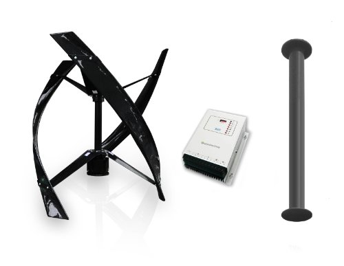 Cheap Eddy Vertical Axis Wind Turbine System Package from Urban Green Energy