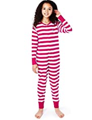 Pure Cotton Striped All-In-One