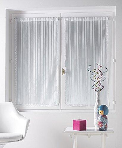 douceur-dinterieur-clarity-2-voile-a-paire-droite-rayures-jacquard-polyester-imprime-60-x-160-cm