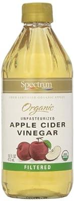 Spectrum, Filtered Organic Apple Cider Vinegar, 16 oz by Hain Celestial Group