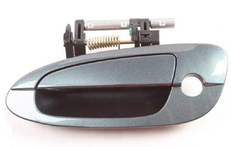 B3931 Opal Blue BX4 02-08 Nissan Altima Front Left Outside Outer Exterior Door Handle with Keyhole 02 03 04 05 06 07 08 (Altima Door Handle Blue compare prices)
