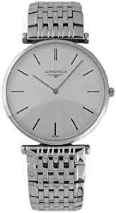 Longines L4.709.4.73.6 - Orologio da polso, acciaio inox, colore: argento
