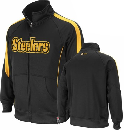 Pittsburgh Steelers Big & Tall Tailgate Time Ii Performance Full-Zip Jacket at Amazon.com