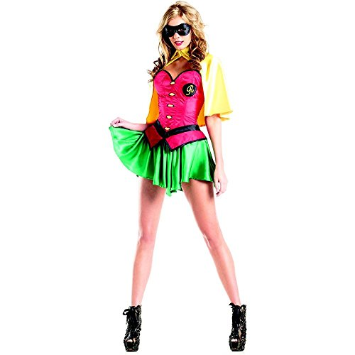 Miss Robin Superhero Adult Costume