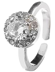Jewels Cart Sterling Silver Toe Ring For Women - B018QT6KDM