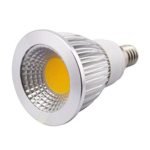 Grexistar 5W E14 Cob Led Spot Light Transparent Cover Warm White