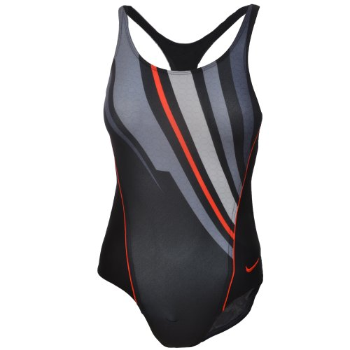 Nike Girls One Piece Swimming Costume - EWC4303 - Black - Chest Size 32