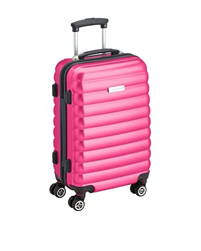 Luggagezone Trolley rígido Upright Rosa 57 cm