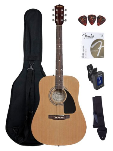 fender fa  acoustic guitar review