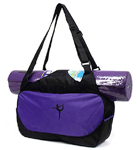 Yoga Mat Tote Bag Hold Lightweight Shoulder Strap Carry
