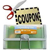 Coupon Organizer and Holder - Clear -13 Pockets ~ TheStorageStore