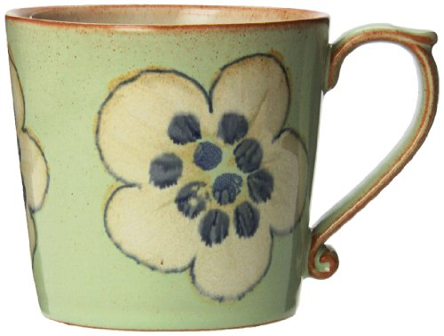 Denby Accent Mug, Large, Orchard Green, Set Of 4